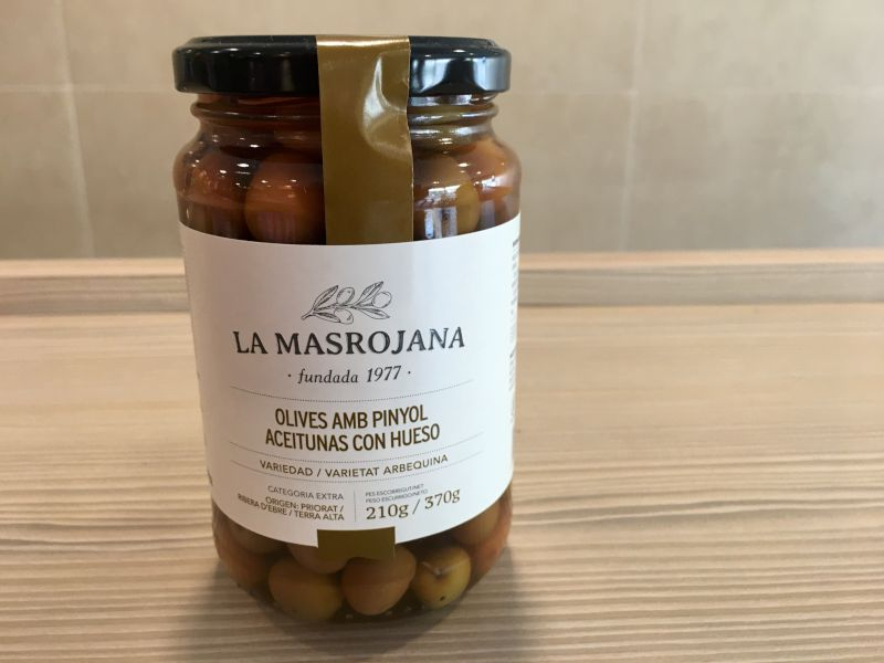 OLIVES ARBEQUINES 370 G.